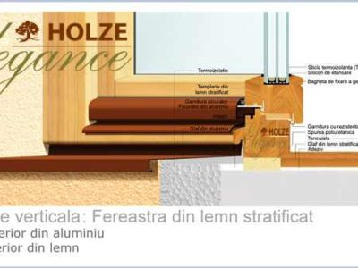 fereastra profil 90 cu tripan securizat, imagine holze elegance