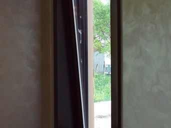 fereastre din lemn stratificat cu arcada