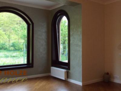 fereastre din lemn stratificat cu arcada, imagine holze