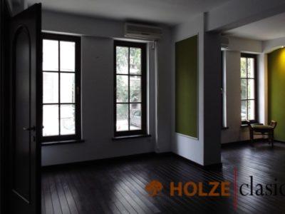 ferestre din lemn stratificat cu sprosuri , holze 61