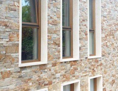 ferestre din lemn stratificat cu tripan