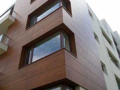 ferestre din lemn triplustratificat cu imbinare in unghi