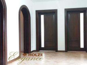 Usi de interior din lemn cu arcada