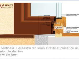 ferestre lemn aluminiu