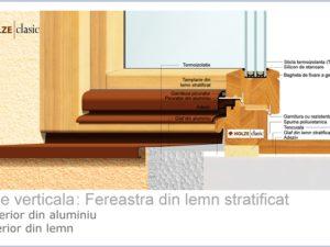 Fereastra lemn stratificat holze 90