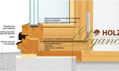 ferestre lemn stratificat, imagine holze elegance