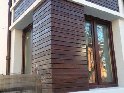 Placari exterioare din lemn