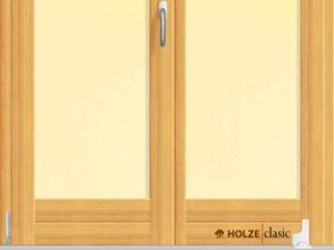 Usa armonica pentru exterior cu dubla deschidere si geam termopan.
