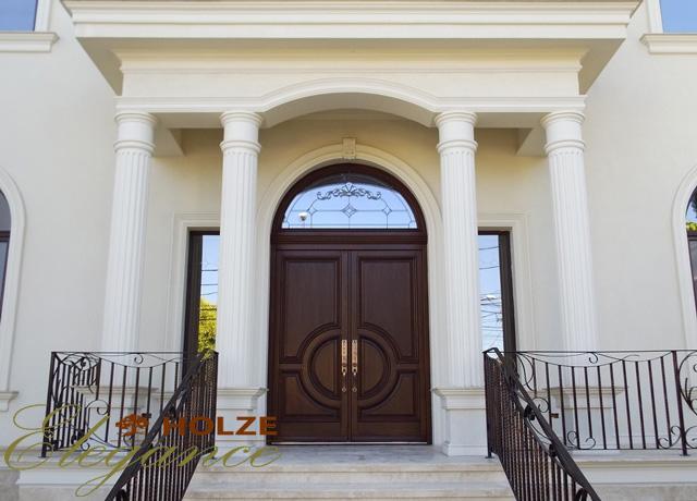 Usi exterior lemn stratificat cu vitraliu , Avantajul usilor exterioare