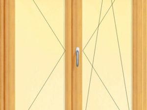 Usa dubla de balcon cu un canat batant si unul oscilobatant , imagine 2c