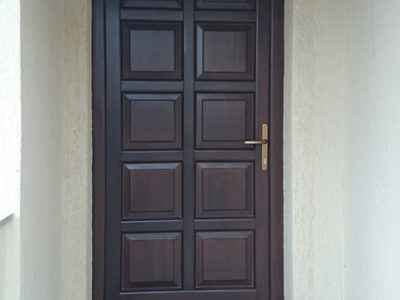 Usa exterior lemn stratificat holze clasic