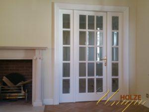 Usi interior lemn stratificat albe
