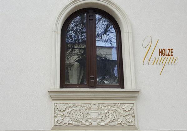 arcade , piatra naturala , ferestre termopan