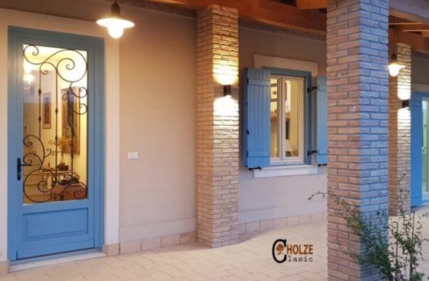 ferestre din lemn stratificat , obloane , rulouri , terase