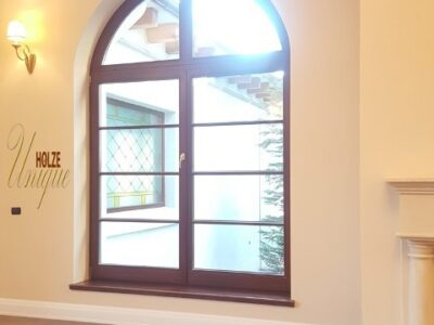 ferestre , de , din , lemn stratificat , cu , arcada , sprosuri , meranti , stejar , case , vile , lux , premium , tripan , bucuresti