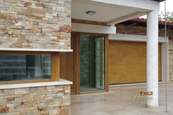 ferestre , usi , lemn stratificat , stejar , meranti , geam termopan , tripan , placare piatra , case , vile