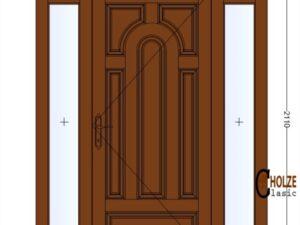 model usa din lemn stratificat cu luminatoare