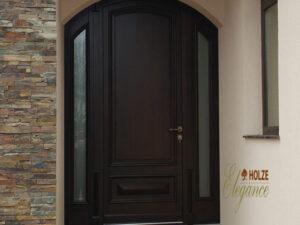 usa de intrare in vila , arcada , geam , sticla , nuc , pentru pvc , aluminiu
