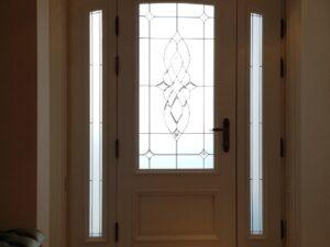 usa de intrare , lemn stratificat , vs , pvc , aluminiu , casa , vila , bucuresti , poze , poza , vitraliu , sticla