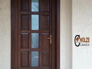 usa de exterior din lemn stratificat pentru casa
