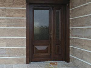 usa exterioara , intrare , lemn stratificat , cu puiut , cu jumate fixa , vs , pvc , aluminiu , poza , poze