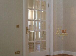 usi albe , ivory , din lemn stratificat pentru interior , imagine model 2040