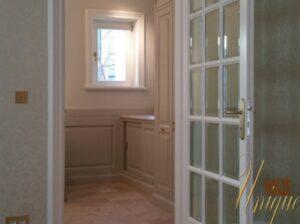 usi din lemn stratificat cu sticla pentru interior , imagine model bucatarie 2040