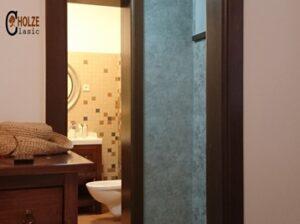 usi interioare din lemn stratificat , culoare nuc , imagine  3020