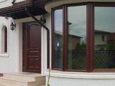 ferestre din lemn stratificat cu geam termopan , model imagine 1062