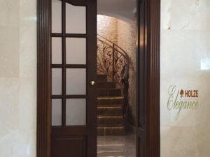 usa din lemn stratificat pentru bucatarie , imagine model 1056