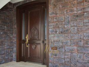 usa sculptura pentru exterior din lemn stratificat , imagine model 1057