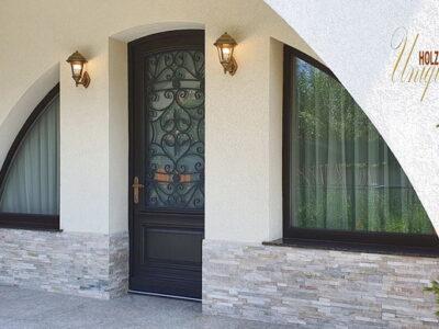 ferestre din lemn stratificat cu geam tripan , imagine 2090