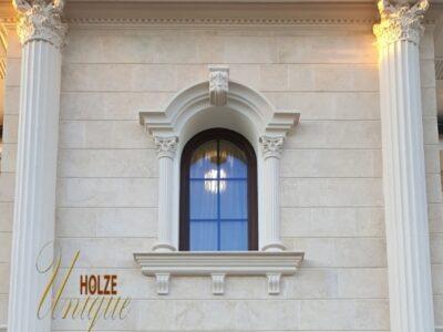 fereastra cu sprosuri din lemn stratificat , arcada , imagine 2001 holze unique